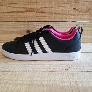 Adidas VS Advantage BB9623 Black Pink White Women's Shoes Sneakers Size 10   eBay